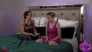Lesbian step aunt seduces niece part 1
