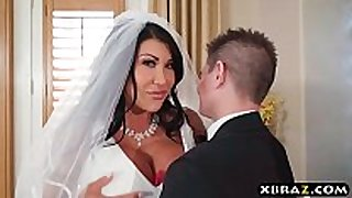 Huge bumpers bride cheats on her wedding day with ...