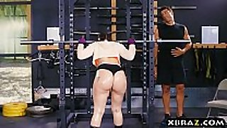 Big ass gym playgirl mandy muse anal screwed after s...