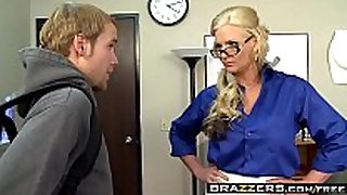 Brazzers - big milk sacks at school - i teach how to...