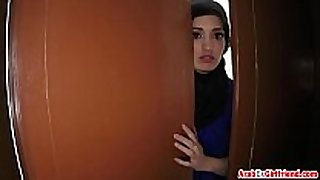 Beautiful arab lascivious cheating wife left by husband decided to ...