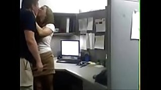 Hidden security web camera films office sex greater quantity at ho...