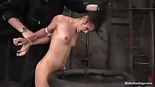 Police castigation sex movie scene