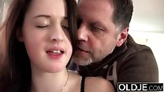 Old juvenile fantastic big brassiere buddies indecent doxy amateur wife copulates old guy c...