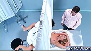 Horny patient (cherie deville) and doctor in ha...