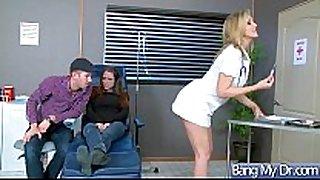 Sex adventures between doctor and slutty patient...