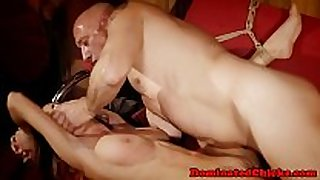 Submissive sweetheart drilled and jizzed on bigtits