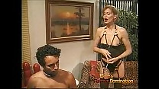 Extremely horny stud enjoys being spanked and wh...