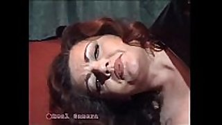 Jessica rizzo bangs a thrall in the pillory with...