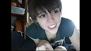 Teen twat white babes short hair cute web camera flashing ha...