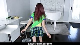 Exxxtrasmall - miniature Married slut scout screwed by huge penis