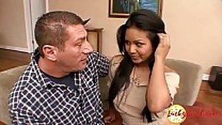 Very chubby big titted juvenile asian legal age teenager craves c...