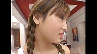 Asian love doll love tunnel double shlong pleasure for asian...