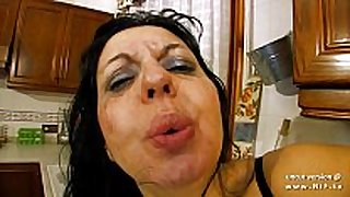 Horny french milf sodomized and double plugged ...