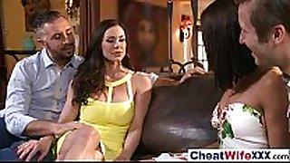 (adriana kendra) real whore lewd white horny white wife cheats in hard ...