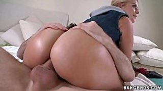 Sexy blonde acquires anal