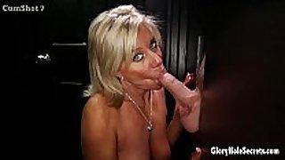 Gloryhole secrets mature blonde shows off her y...