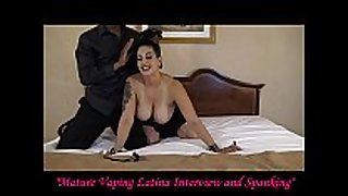 Mature vaping latin sweetheart interview and drubbing
