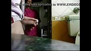 My maid caught desi