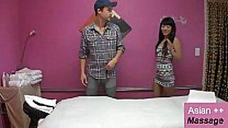2 asian cuties 1 dude erotic nude massage