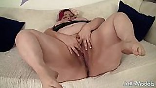 Fat and sexually sexually excited eliza allure masturbates