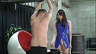 Japanese female-dominator risa facesitting