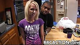 Alexia sky challenged by big black schlong