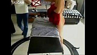 Hiddencam massage smutty whore BBC slut