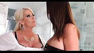 Wife confronts husbands female-dominator