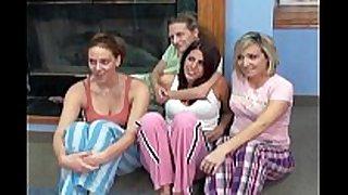 Huge white wife orgy