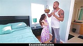 Exxxtrasmall - legal age teenager hunts easter eggs to spread...