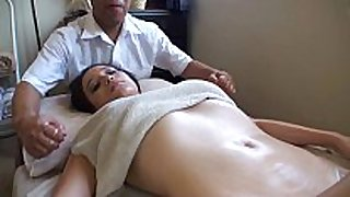 Asian massages white smutty wench horny white wife
