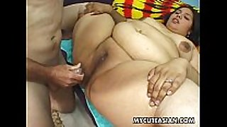 Fat a-hole asian doxy gets her sausage session