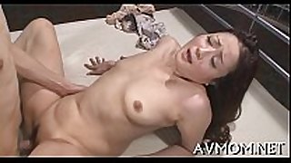 Dirty slut mom soaked crack stretched