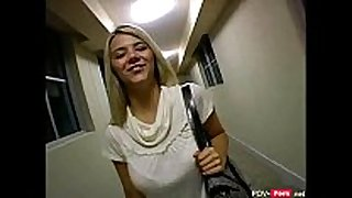 Blonde BBC bitch picked up in public and screwed - po...