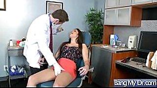 Hot sex scene action between doctor and patient...