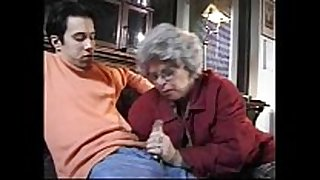Granny german slutty wife sucks grandson caught jackin...