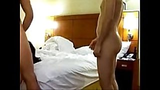 Wife shared with many fellows in hotel