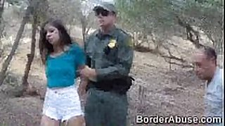 Teen immigrant crossed the border to fuck the b...