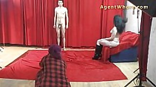 19yo casting guy receives wild striptease from nast...