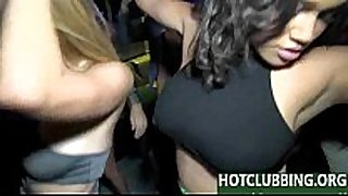 Orgy in the club with sexy girls - inthevip video