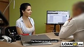 Busty massage milf needs a loan to open her own...