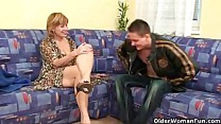 Granny claims a each day cum load will slow her ag...
