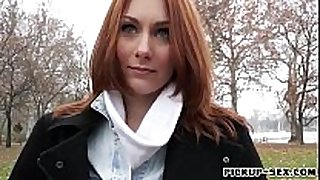 Redhead czech white wife alice march gets gangbanged for ...