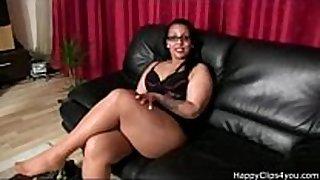 Gina's nylon footjob handjob and greater amount....