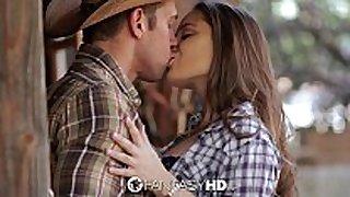 Hd fantasyhd - cowgirl dani daniels rides weenie ...