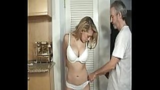 Door to door dilettante BBC slut bound and gagged part 1