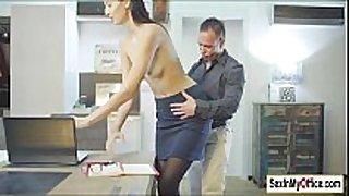 Secretary kitty jane bonks her boss in home office