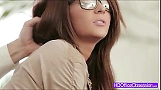 Hot black brown alexis brill fucked deep from behi...