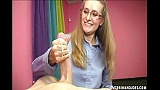 Horny golden-haired milf can not live out of this young 10-Pounder